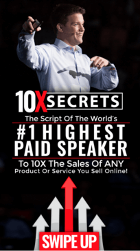 Russell Brunson and his 10X Secrets masterclass course