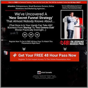 See This Report on Russell Brunson Clickfunnels